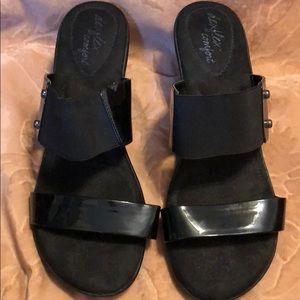 Black strap Sandals ⚫️